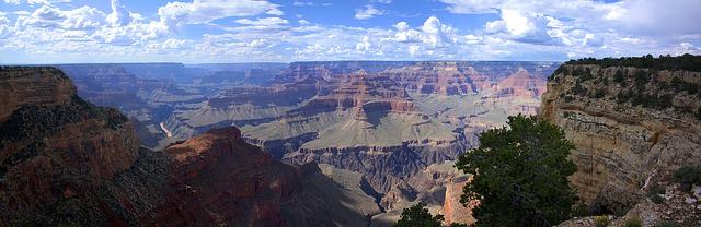 Backpacking in Amerika - grand canyon