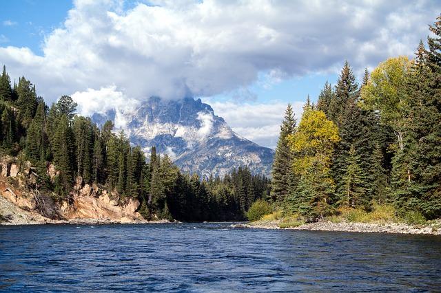 Backpacking in Amerika - grand teton national park