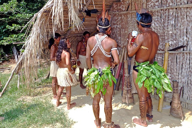Backpacking in Brasilien - Amazon indians
