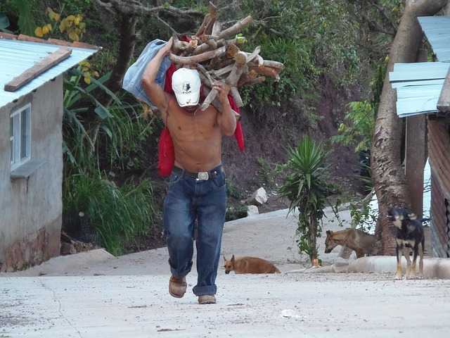 Backpacking in Honduras - Work
