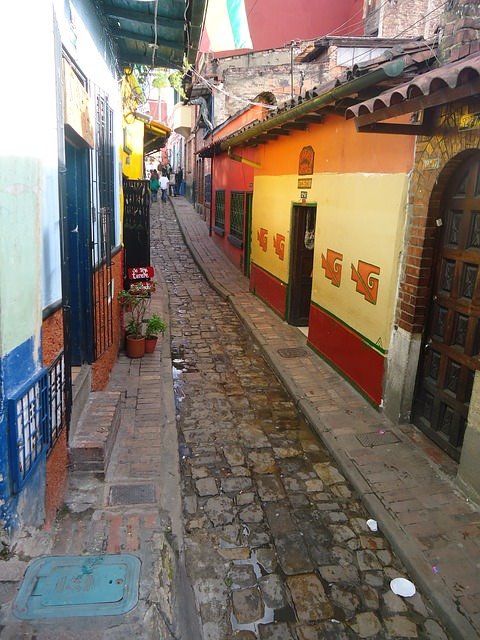 Backpacking in Kolumbien - Bogota