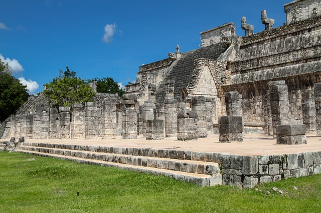 Backpacking in Mexiko -Maya Ruinen