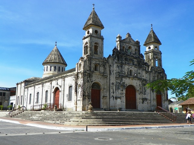Backpacking in Nicaragua - Church