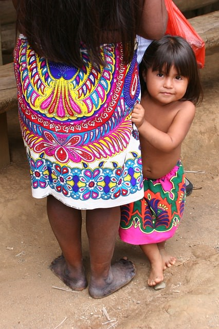 Backpacking in Panama - Familie