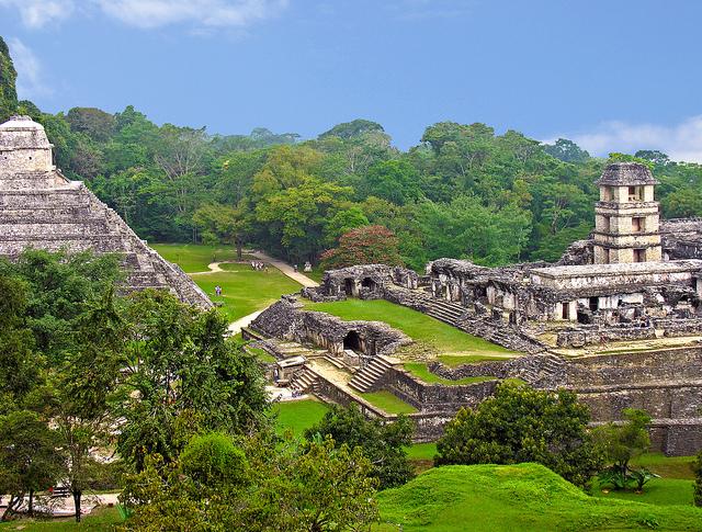 Bacpacking in Mexiko - Maya Kultur