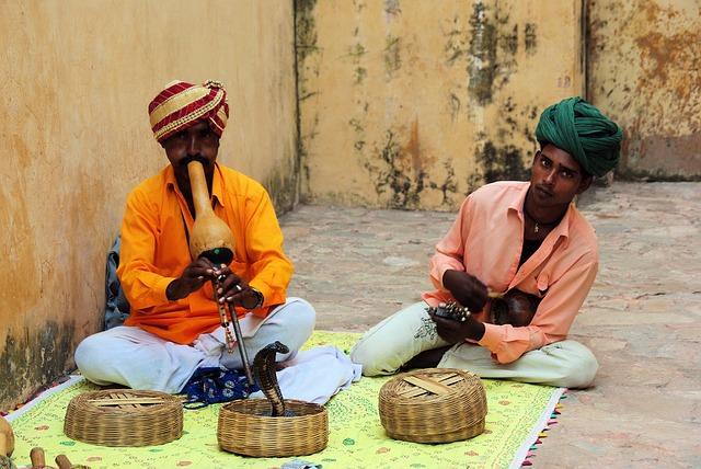 Backpacking in Indien - Schlangenbeschwoerer
