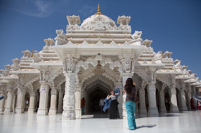 Backpacking in Indien - Tempel