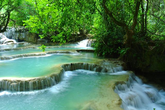 Backpacking in Laos - Wasserfaelle
