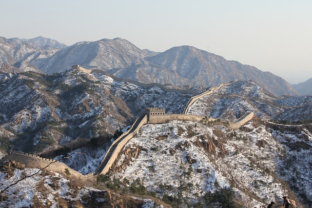 Backpacking in China - China Mauer