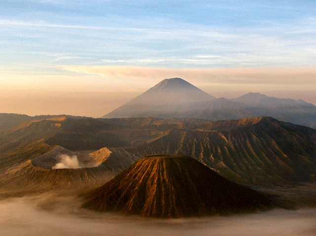 Backpacking in Indonesien - Vulkana