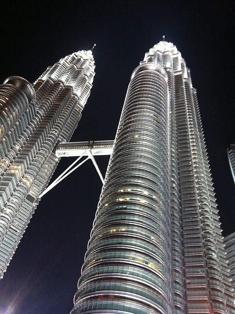 Backpacking in Malaysia - Twin Tower