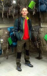 Backpacker Kleidung
