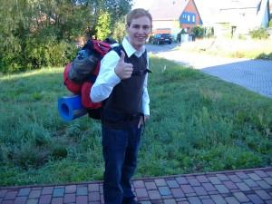 First Backpacker Trip as Hitch Hiker 2008