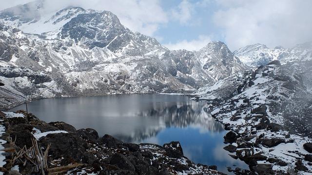 Backpacking in Nepal - Hiking in Bergen