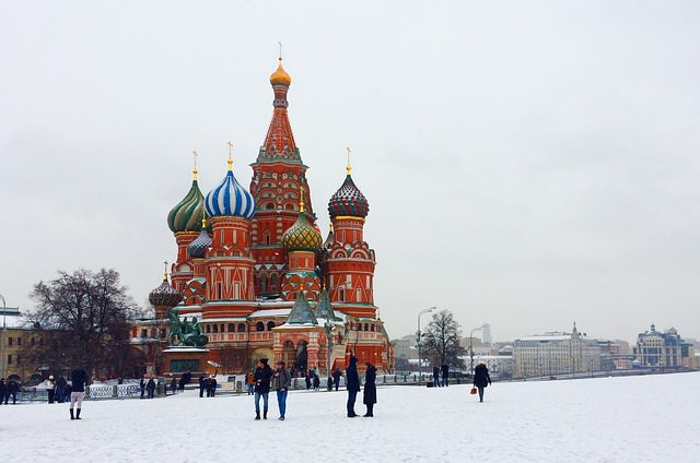 Backpacking in Russland - Moskow