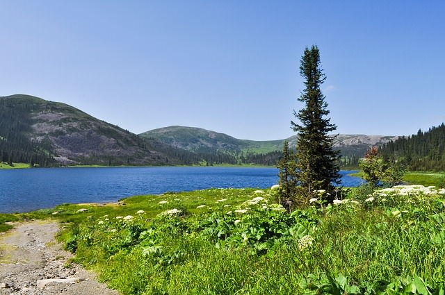 Backpacking in Russland - See und Natur