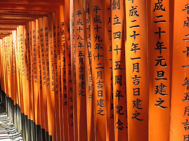 Backpacking in Japan - Kultur und Schrift