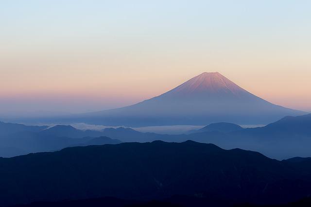 Backpacking in Japan - mt fuji
