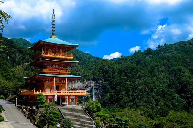 Backpacking in Japan - Tempel