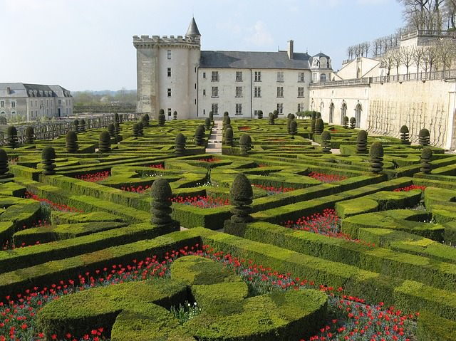 Backpacking in Frankreich - Schloss