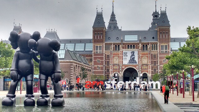 Backpacking in Holland - In Amsterdam
