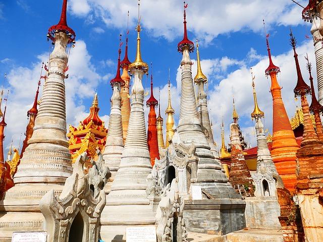 Backpacking in Myanmar - Tempel
