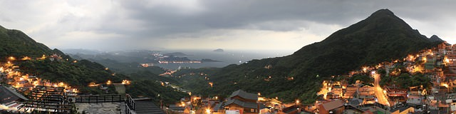 Backpacking in Taiwan - Panorama