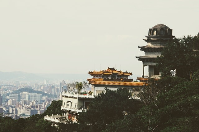 Backpacking in Taiwan - Temple