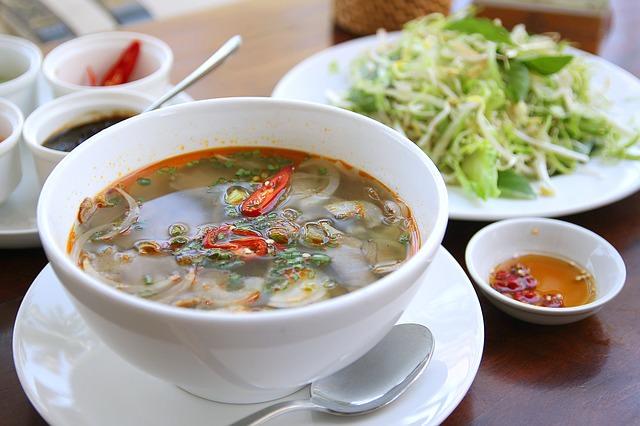Backpacking in Vietnam - Traditionelles Essen