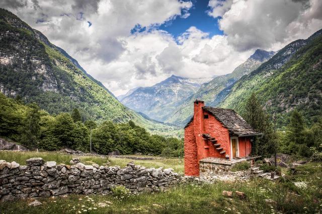 Backpacking in der Schweiz - Natur und Berge