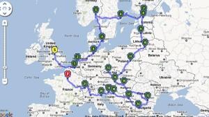 Skandinavian und Central Europa Roadtrip