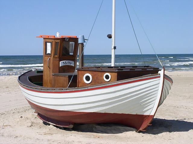 Dänemark Fischer Boot
