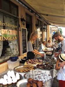 Street food Schweden