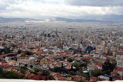 Athen Panorama, Akropolis