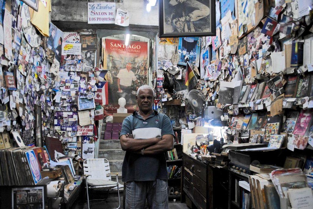 Backpacking auf Kuba - Händler in Santiago de Cuba