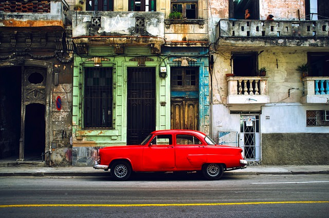 Backpacking cuba