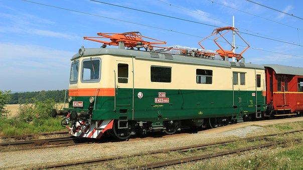 historische Eisenbahn in Tschechien