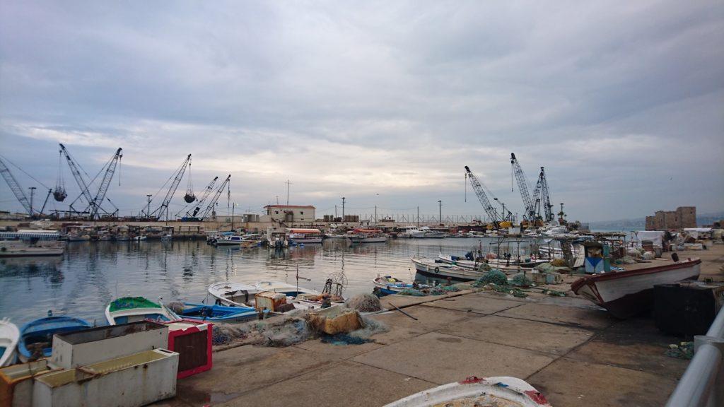 Backpacking im Libanon - Hafen
