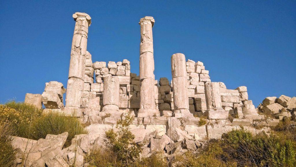 Backpacking im Libanon - Römische Ruinen