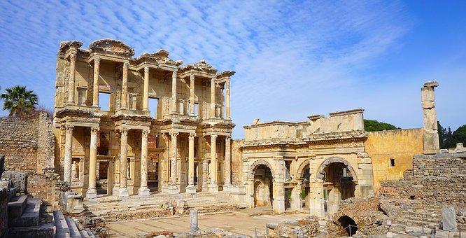 Celsus, Efes, Ephesus, Izmir