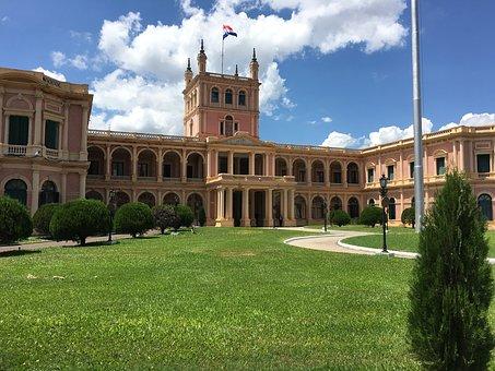 Präsidentenpalast in Asunción