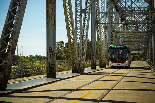 Bus fahren in Uruguay
