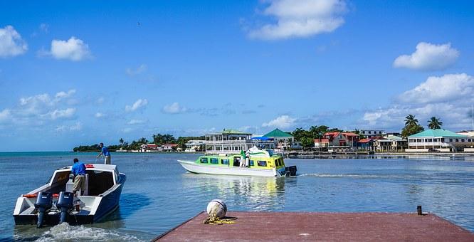 Hafen von Belize City