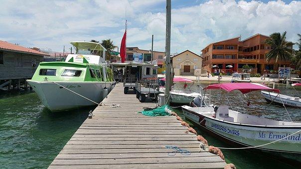 Belize City Wassertaxi