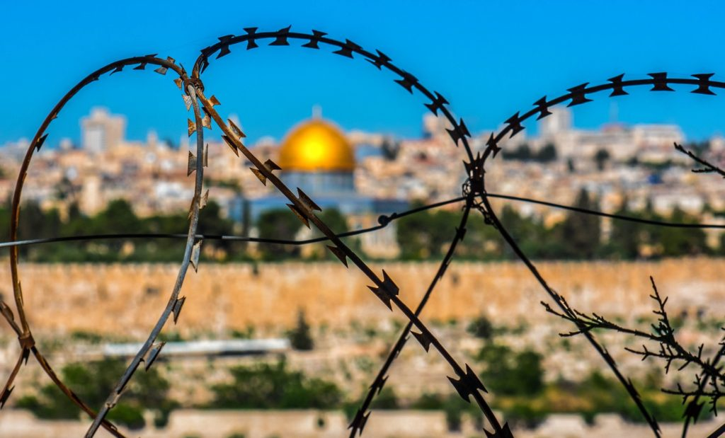 Backpacking Israel - Jerusalem durch den Stacheldraht