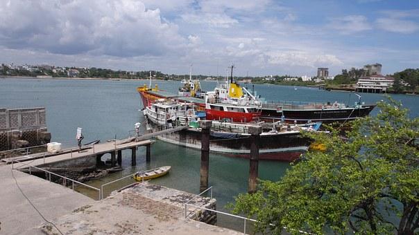 Hafen Mombasa Kenia