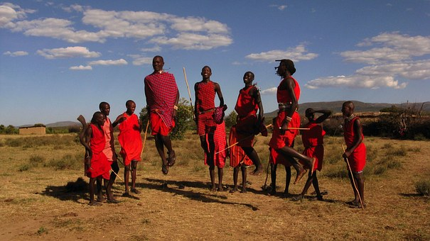 Massai Stamm in Kenia
