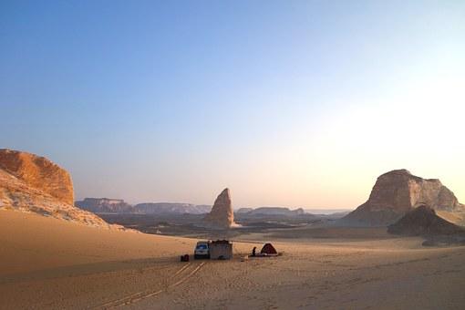 Schwarze Wüste in Egypt
