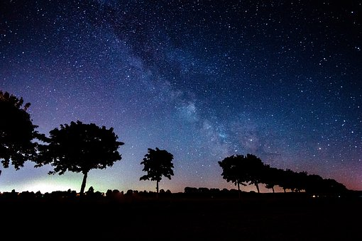 Sternenhimmel über Egypt