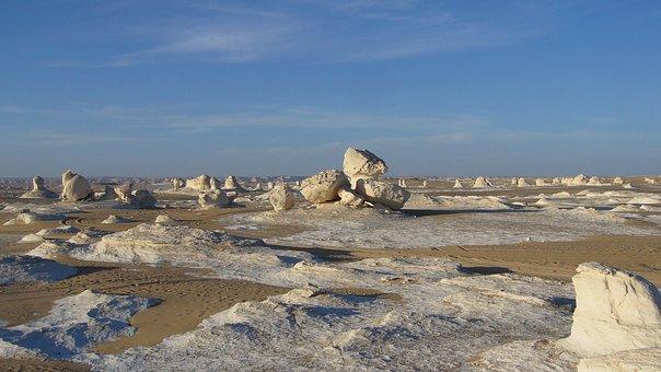 Weiße Wüste in Egypt
